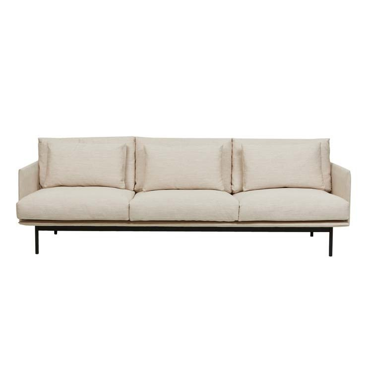 Tolv Cherry 3 Seater Sofa