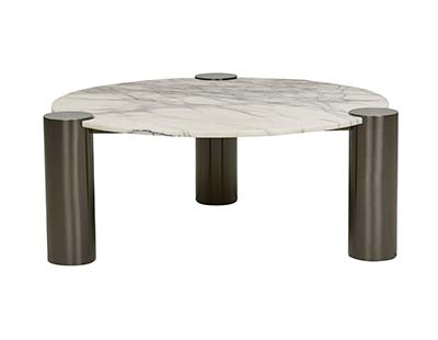 Elle Luxe Column Coffee Table